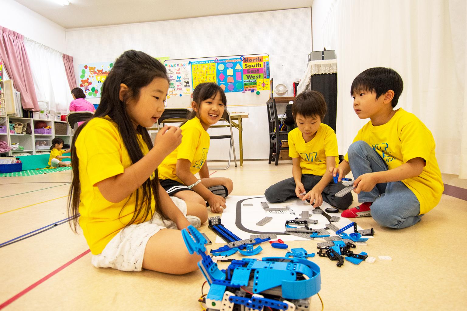 ロボット/プログラミング教室(年中~小学生)